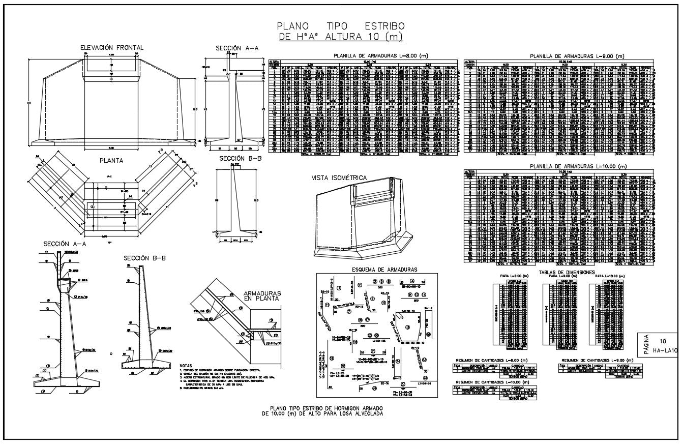 Concrete Bridge Detail DWG file,Concrete Bridge Detail Download.