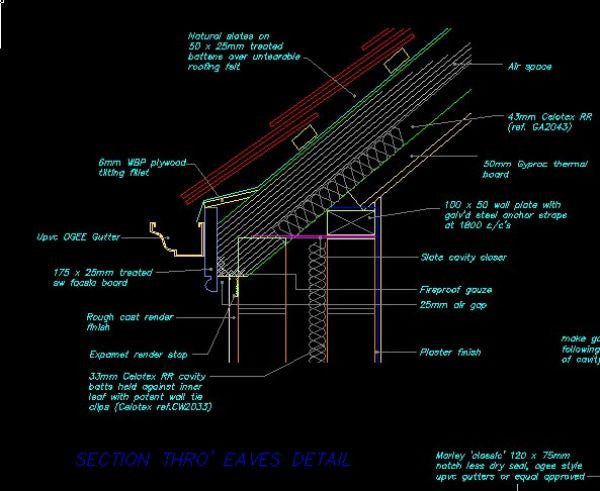 House Section Cad Design Free Cad Blocks Drawings Details