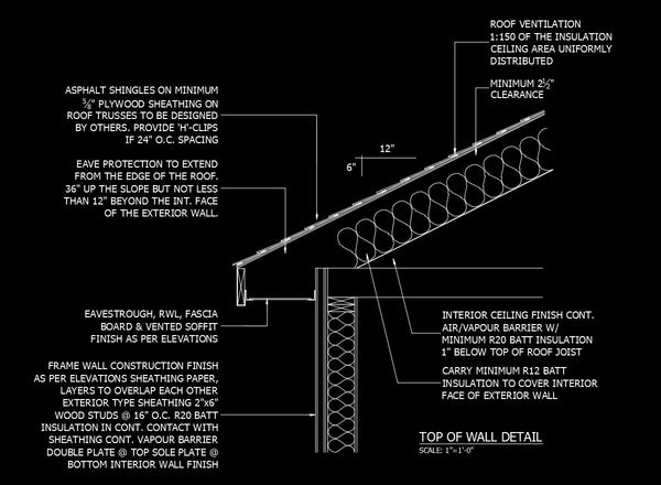 Free Cad Details Top Of Wall Detail Cad Design Free