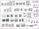 System Cabinets Cad V.1 - CAD Design | Download CAD Drawings | AutoCAD Blocks | AutoCAD Symbols | CAD Drawings | Architecture Details│Landscape Details | See more about AutoCAD, Cad Drawing and Architecture Details