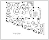 Free Restaurant plan - CAD Design | Download CAD Drawings | AutoCAD Blocks | AutoCAD Symbols | CAD Drawings | Architecture Details│Landscape Details | See more about AutoCAD, Cad Drawing and Architecture Details