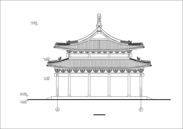 Chinese Architectural Drawings 3