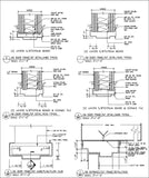 Door Jamb Details - CAD Design | Download CAD Drawings | AutoCAD Blocks | AutoCAD Symbols | CAD Drawings | Architecture Details│Landscape Details | See more about AutoCAD, Cad Drawing and Architecture Details