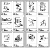 Disabled cad blocks 1 - CAD Design | Download CAD Drawings | AutoCAD Blocks | AutoCAD Symbols | CAD Drawings | Architecture Details│Landscape Details | See more about AutoCAD, Cad Drawing and Architecture Details