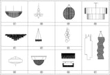 Lights and Lamps Blocks - CAD Design | Download CAD Drawings | AutoCAD Blocks | AutoCAD Symbols | CAD Drawings | Architecture Details│Landscape Details | See more about AutoCAD, Cad Drawing and Architecture Details