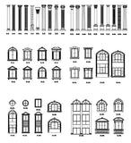 Ornamental Parts of Buildings 13 - CAD Design | Download CAD Drawings | AutoCAD Blocks | AutoCAD Symbols | CAD Drawings | Architecture Details│Landscape Details | See more about AutoCAD, Cad Drawing and Architecture Details