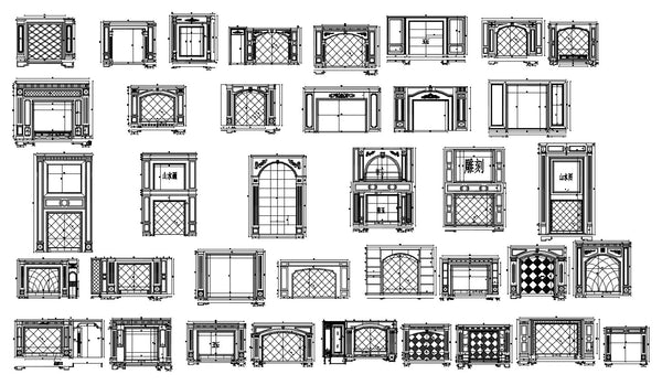 Types Of TV Wall Design CAD DrawingsLiving RoomBedroom Design - Bedroom design drawings