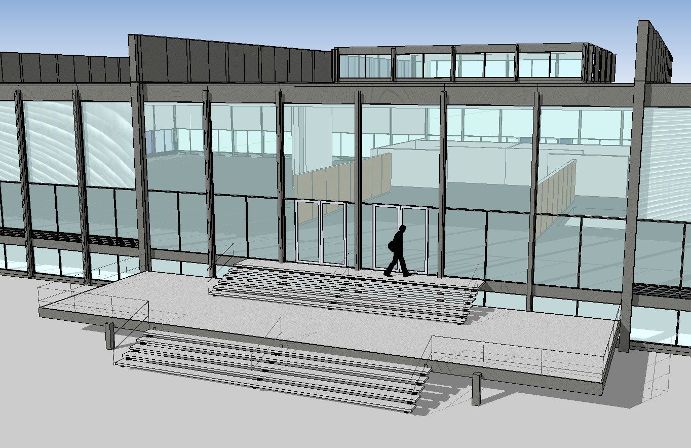 Sketchup 3D Architecture models- Illinois Institute of Technology ...