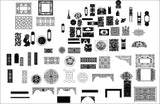 All Chinese Carved CAD Elements V.2(Best Recommanded!!) - CAD Design | Download CAD Drawings | AutoCAD Blocks | AutoCAD Symbols | CAD Drawings | Architecture Details│Landscape Details | See more about AutoCAD, Cad Drawing and Architecture Details
