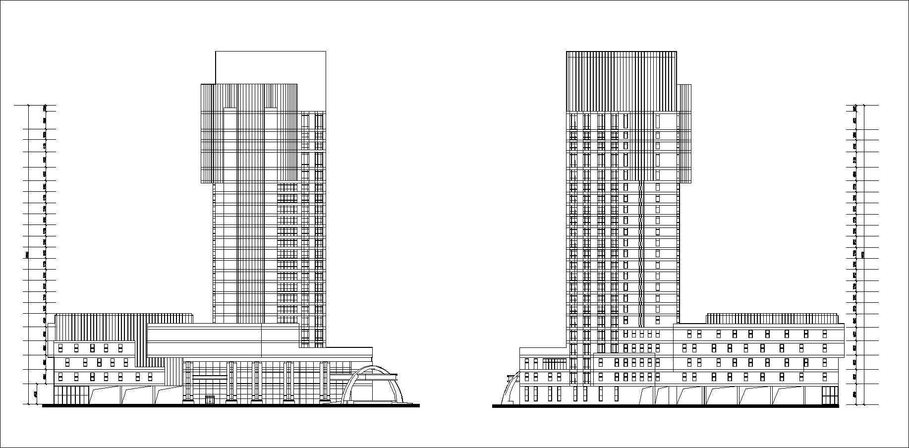 5 Star Hotel Cad Drawings 1
