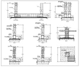 Foundation Details V1 - CAD Design | Download CAD Drawings | AutoCAD Blocks | AutoCAD Symbols | CAD Drawings | Architecture Details│Landscape Details | See more about AutoCAD, Cad Drawing and Architecture Details
