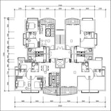 Residential layout plans