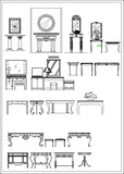 Furniture  Elevation design - CAD Design | Download CAD Drawings | AutoCAD Blocks | AutoCAD Symbols | CAD Drawings | Architecture Details│Landscape Details | See more about AutoCAD, Cad Drawing and Architecture Details