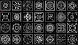 Over 600+ Types of Paving Design CAD Blocks