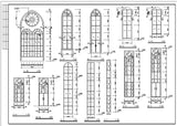 Cathedrals and Church  1 - CAD Design | Download CAD Drawings | AutoCAD Blocks | AutoCAD Symbols | CAD Drawings | Architecture Details│Landscape Details | See more about AutoCAD, Cad Drawing and Architecture Details