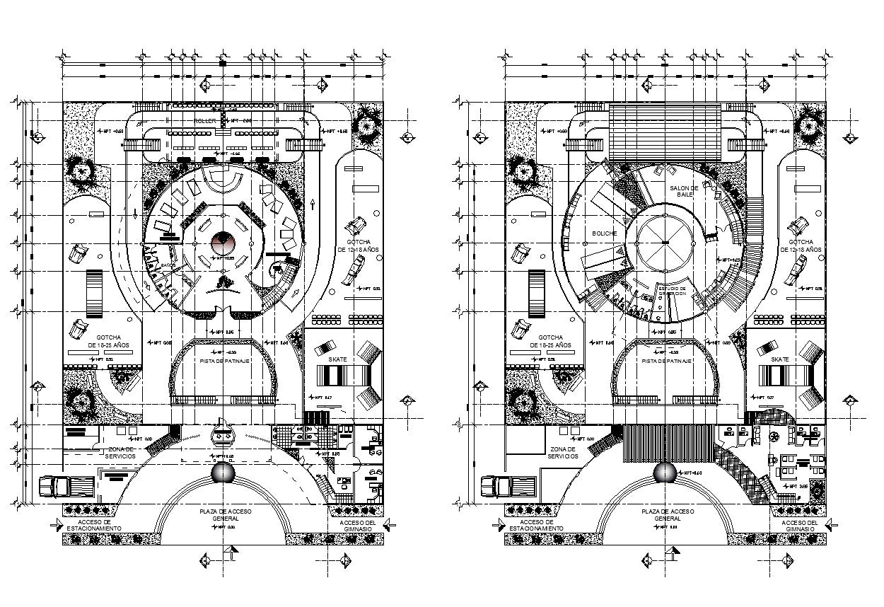 Convention Centre – CAD Design | Free CAD Blocks,Drawings,Details