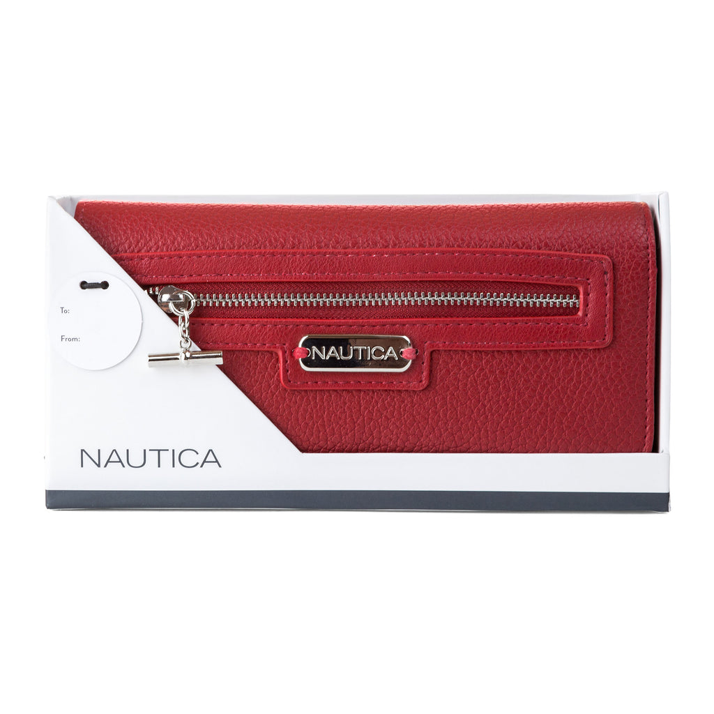 35bcbedb152 Nautica Above Board Boxed Continental Wallet – PickyShopping