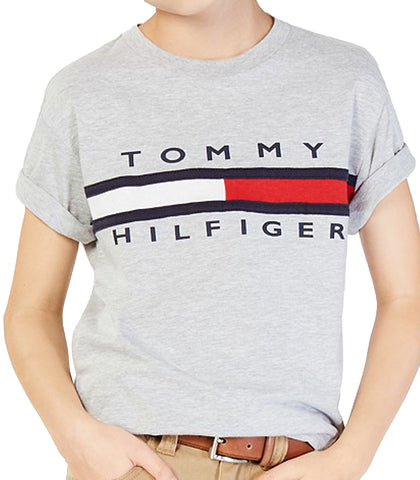 Tommy Hilfiger Tommy Hilfiger Graphic Print Cotton T Shirt, Little Boys from Macys | Shop