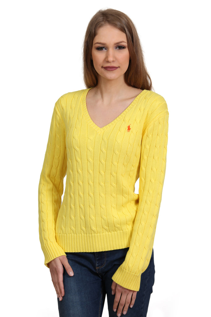 Polo Ralph Lauren Women s Kimberly LS Sweat Yellow – PickyShopping 19f759aa4