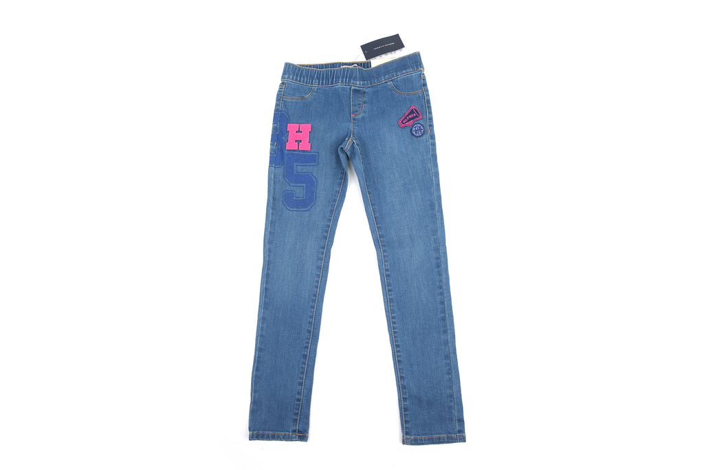 6d919899 ... Tommy Hilfiger Little Girl's Colored Stitch Straight Jeans ...