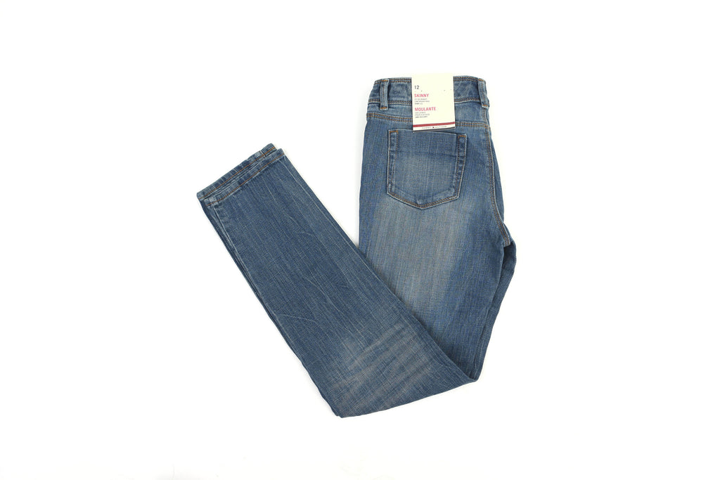 41af2bbc Tommy Hilfiger Little Girl's Colored Stitch Straight Jeans ...