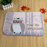 Owlsome Floor Mat - The Hoot House
