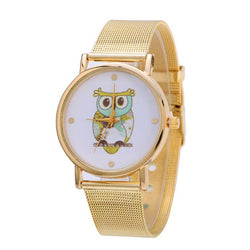 Owl Watch With Mesh Band - The Hoot House