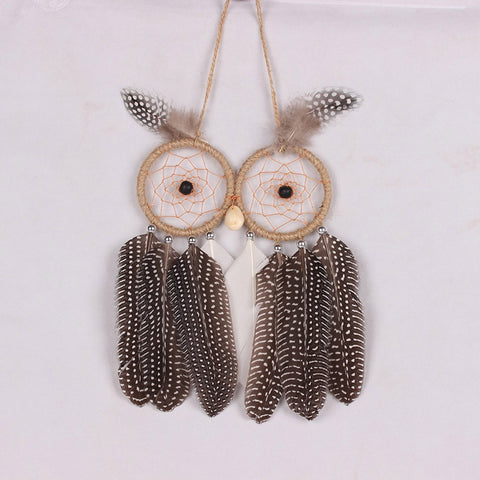 Owl Dreamcatcher - The Hoot House