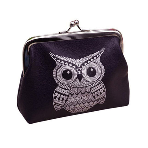 Graphic Owl Coin Purse - The Hoot House