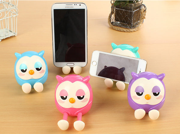 Owl Phone Stand and Piggy Bank - The Hoot House