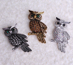 Big Owl Brooches - The Hoot House