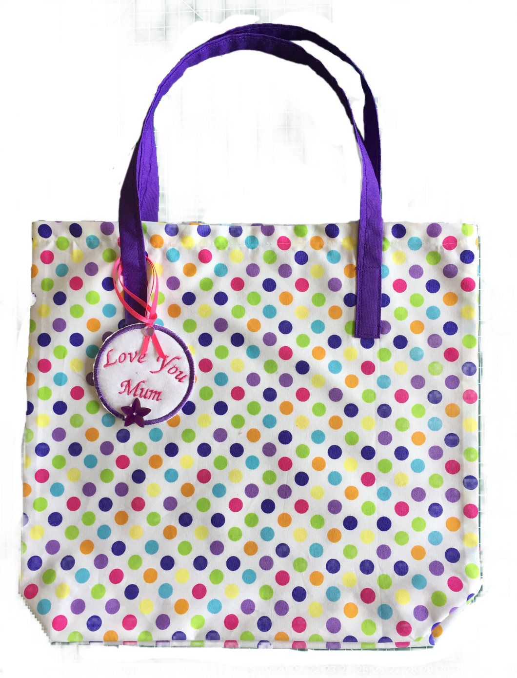 Gift Bag spotted (27x29cm)