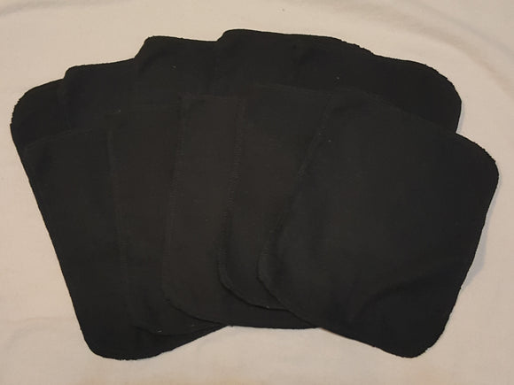 Lunch Bag Napkins 10 Black