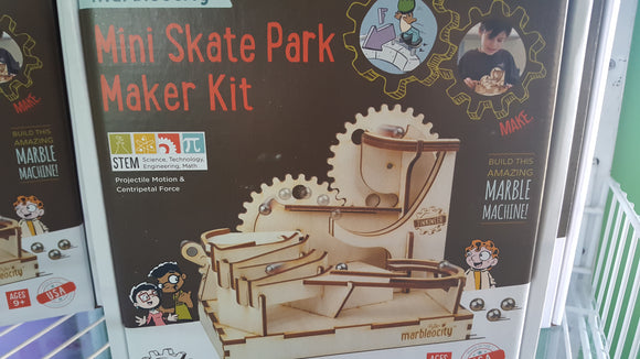 Mini Skate Park Maker Kit!