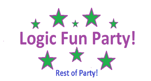 Logic Fun Party!  Rest of Payment for Party!
