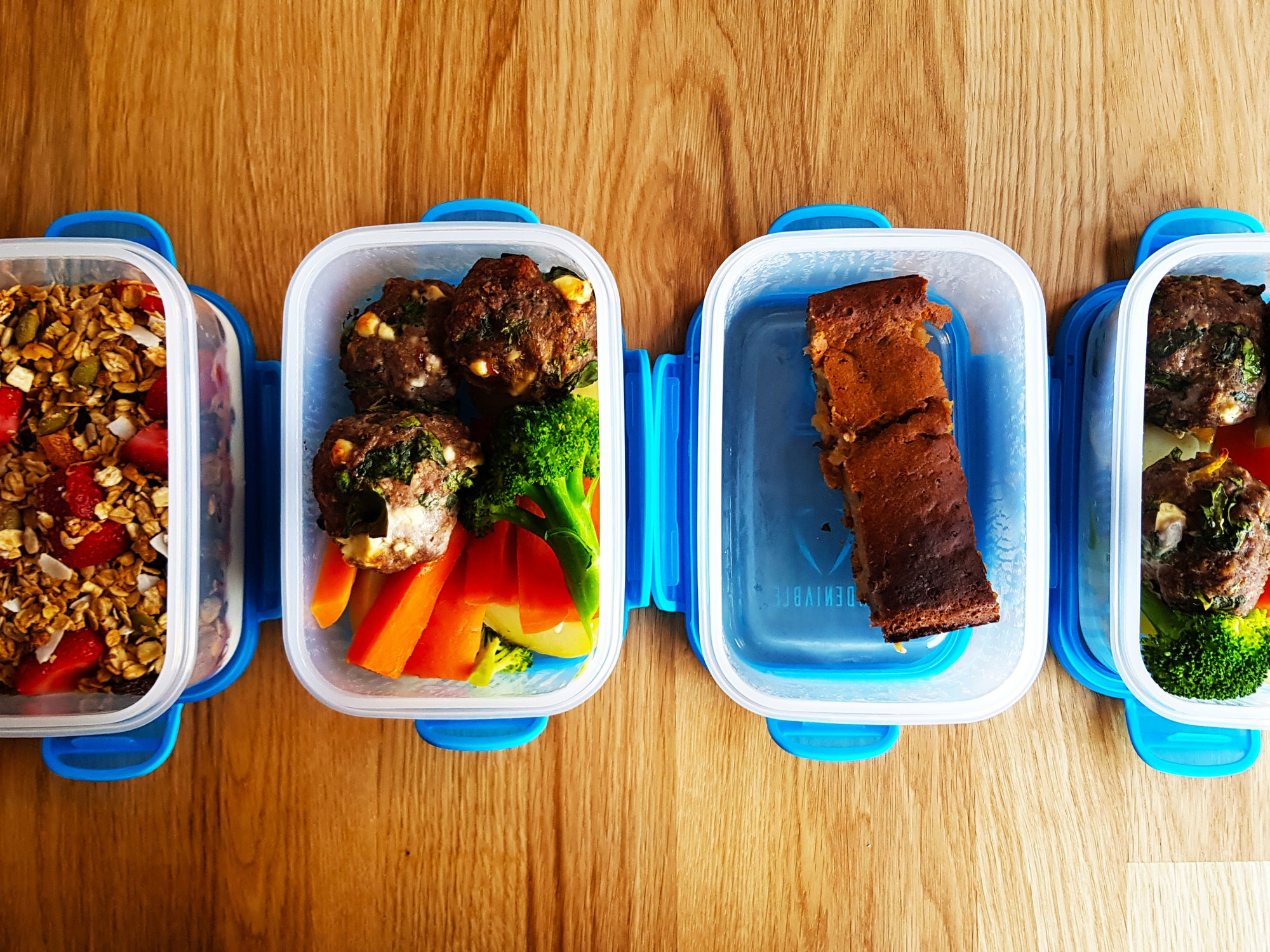 Meal Prep Sunday - 29th July 2018 - 2000 Calories & 6 Meals Per Day
