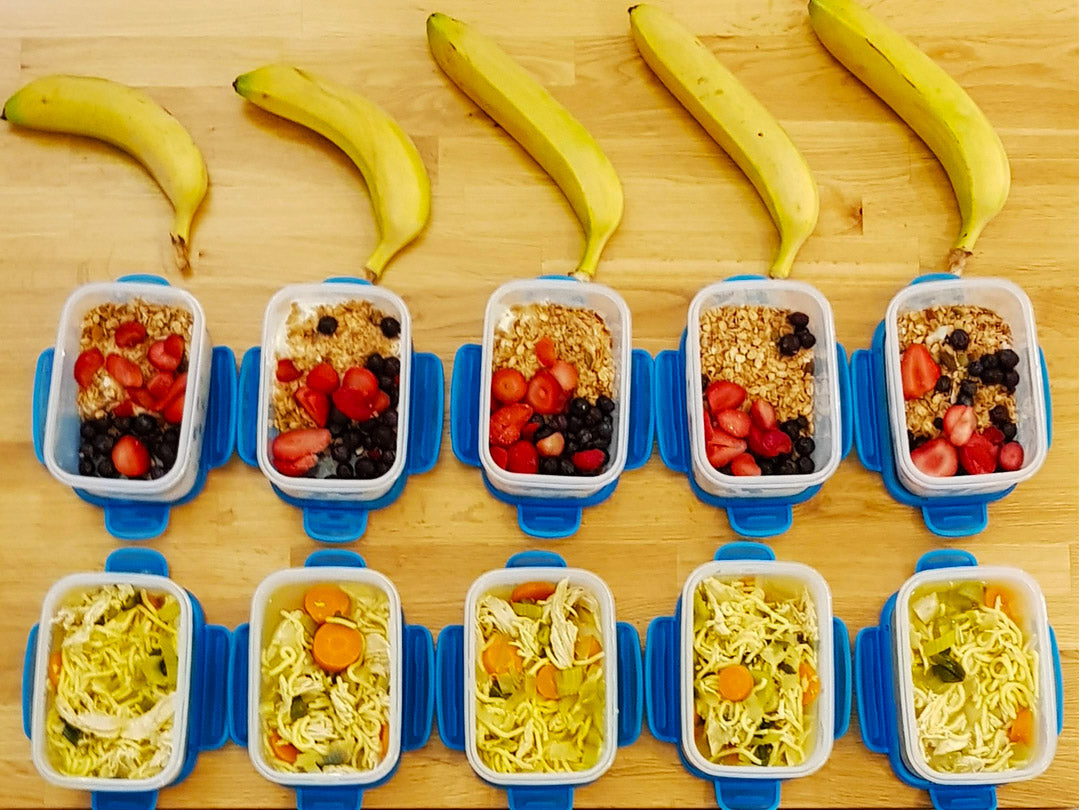 Meal Prep Sunday - 16th September 2018 - 1400 Calories & 6 Meals Per Day