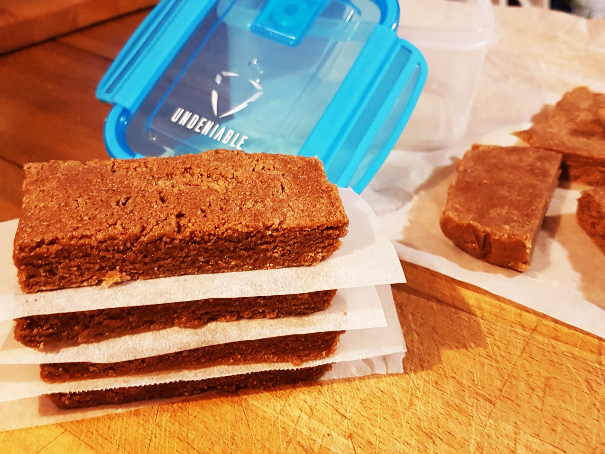 Meal Prep Sunday - Chocolate Peanut Butter Protein Bars