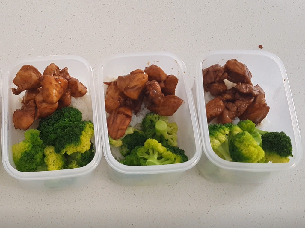 Meal Prep Sunday - Honey Soy Chicken