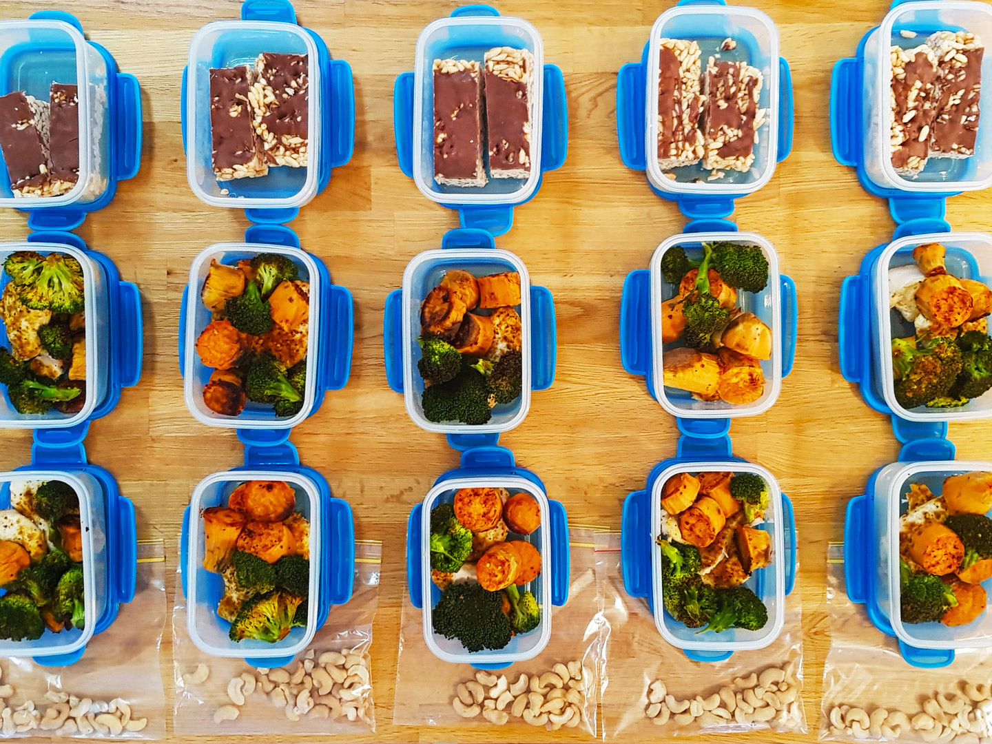 Meal Prep Sunday - 26th August 2018 - 1800 Calories & 6 Meals Per Day