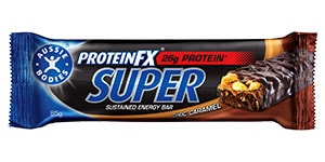 Aussie Bodies - Protein FX - Super Sustained bar - Choc Caramel Review