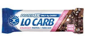 Aussie Bodies - ProteinFX - Low Carb - Crunchy Protein + Fiber Bar Rocky Road Review