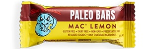 Blue Dinosaur - Macadamia and Lemon Paleo Bar