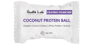 Health Lab - Coconut Protein Ball Review
