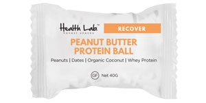 Health Lab - Peanut Butter Protein Ball Review