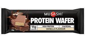Musashi - Protein Wafer - Vanilla Review