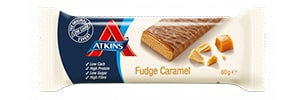 Caramel Fudge Atkins Bar