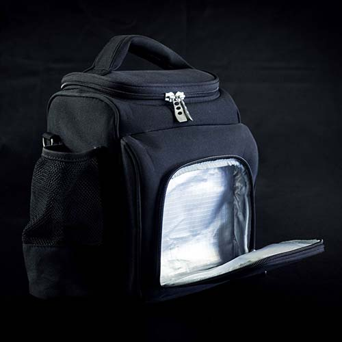 motion meal prep bag front insulated pocket opening