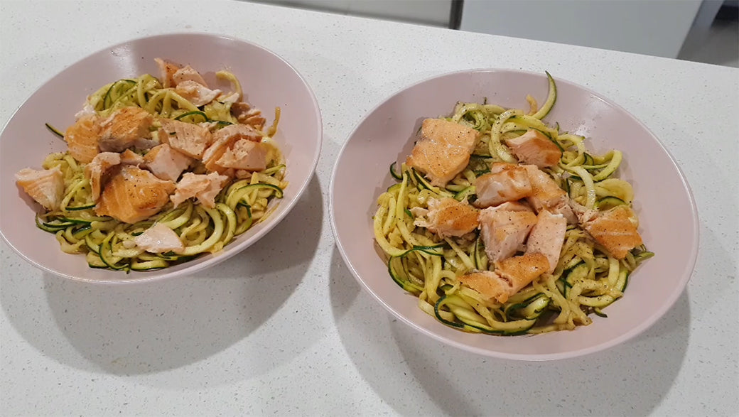 Easy Dinner for 2 Ideas finished