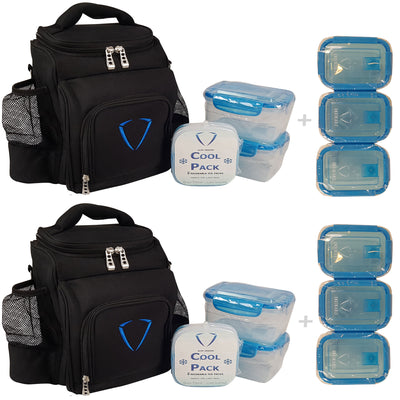 2x Motion Meal Prep Bag - Value Pack